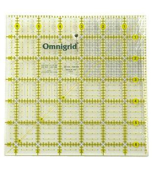 """Omnigrid Quilting Grid Ruler 6.5""""X6.5"""""""