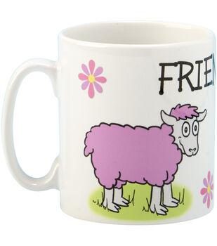 Vanessa Bee Designs Coffee Mug-Friendsheep