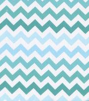 Keepsake Calico™ Cotton Fabric-Blue Ombre Chevron, , hi-res