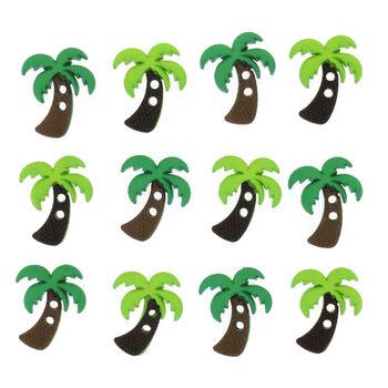 Jesse James Dress It Up Embellishments Palm Trees