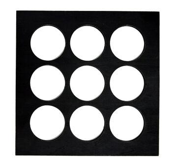 Black Shadowbox Layer Rounds
