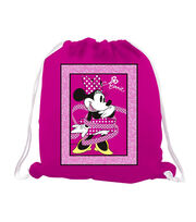 "Disney Minnie Mouse Bags and Bows 48"" No Sew Fleece Throw, , hi-res"