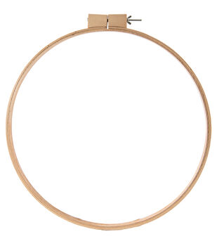 "Wood Quilt Hoop 18""-3/4"" Depth"
