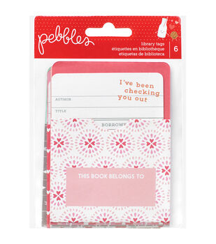 We Go Together Library Pockets With Cards 12 Pieces-6 Pockets & 6 Cards