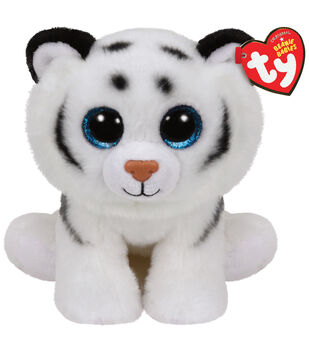 Ty Classic Tundra White Tiger Medium