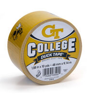 Duck Tape College Logo Georgia Tech, , hi-res