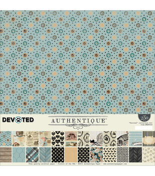 Authentique Paper Devoted 12''x12'' Collection Kit