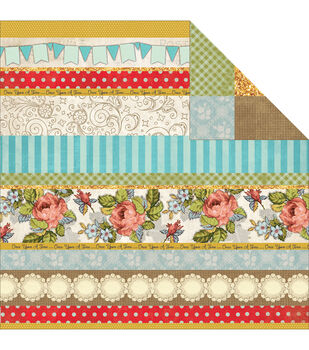 """Storybook Double-Sided Cardstock 12""""X12""""-Chapter 4"""