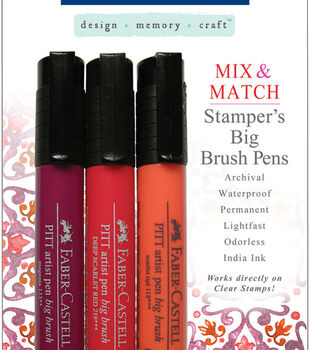 Faber-Castell design-memory-craft Mix & Match Stamper's Big Brush Pen Set of 3-4 Sets
