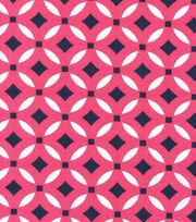 Keepsake Calico™ Cotton Fabric-Paisley Pink Geo, , hi-res