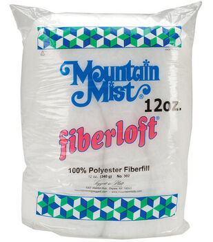 Mountain Mist Fiberloft Premium Poly Stuffing 12 oz