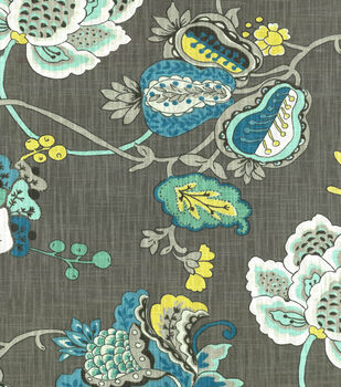 Home Decor  Print Fabric- Richloom Studio  Bach Aquamarine