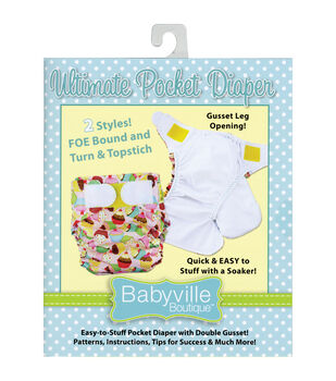 Babyville Boutique™ Patterns-Ultimate Pocket Diaper