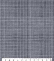 Keepsake Calico™ Cotton Fabric-Mini Crosshatch Black/White, , hi-res