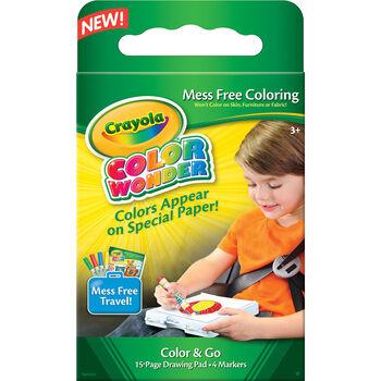 Crayola Color Wonder Mess Free Color & Go Kit-