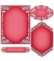 Spellbinders-Nestabilities A2 Card Creator Die - Devine Eloquence, , hi-res