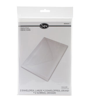 Sizzix Plastic Envelopes