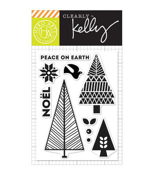 Hero Arts® Kelly Purkey Clear Stamps-Noel