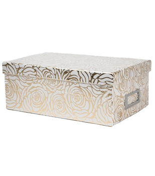 DCWV Gold Rose Storage Box