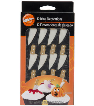 Wilton® Royal Icing Decorations 12/Pkg-Knife