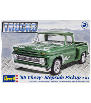 Plastic Model Kit-'65 Chevy Stepside Pickup 2-In-1 1:25