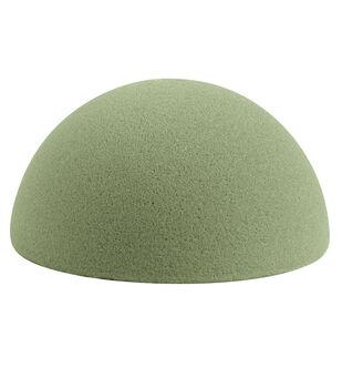 5In Dry Foam Half Ball Green 1Pk