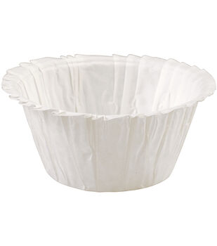 Wilton® Standard Ruffle Baking Cup 24/Pkg-White