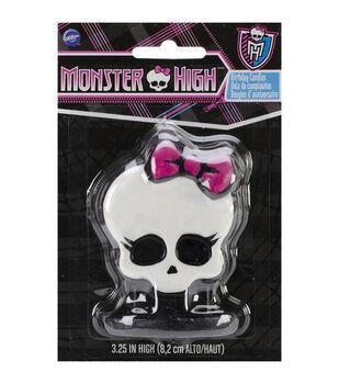 "Candle 3.25"" 1/Pkg-Monster High"