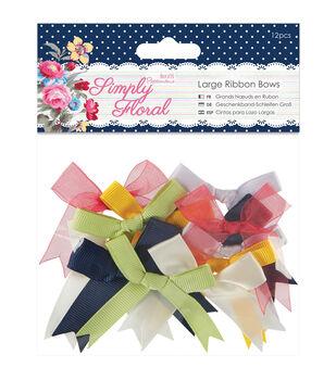 Papermania Simply Floral Ribbon Bows