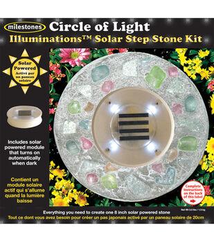 Mosaic Stepping Stone Kit-KIDS DAISY NIGHT GLO ILLUMINATIONS SOLAR
