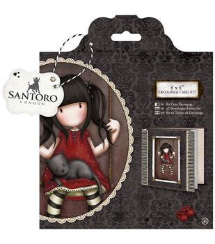 Santoro -gorjuss Decou Card K