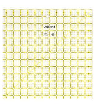 """Omnigrid Quilting Square Ruler 12.5"""" x 12.5"""""""