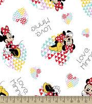 Disney® Minnie Print Fabric-Love Minnie, , hi-res