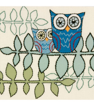 Dimensions Handmade Collection Crewel Embroidery Kit Owl