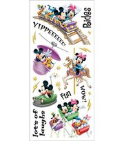 Sandylion Disney Stickers/Borders-Amusement Park Rides, , hi-res