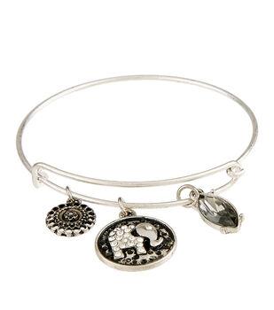 Finished Bracelet Elephant - Silver