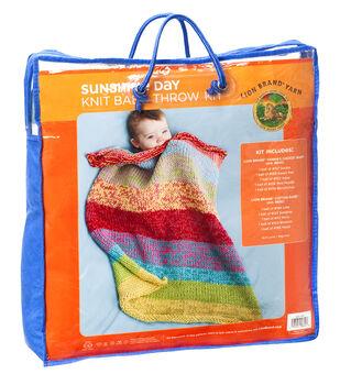 Sunshine Day Baby Throw Kit