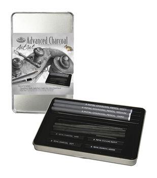 Royal Brush Advanced Charcoal Art Set with Tin
