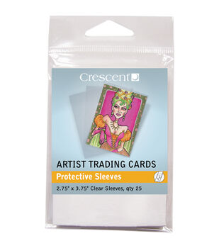 Crescent Artist Protective Sleeves Trading Cards
