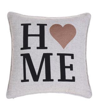 In The Garden Pillow-Home Heart