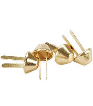 14mm Purse Feet 4/Pkg-Gold