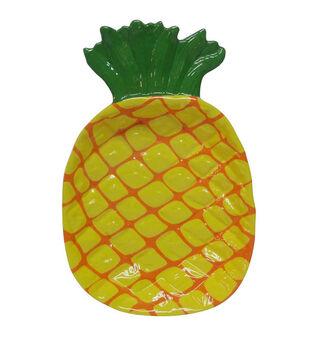 Escape To Paradise Large Melamine Platter-Pineapple