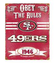 San Francisco 49ers NFL Vintage Sign, , hi-res