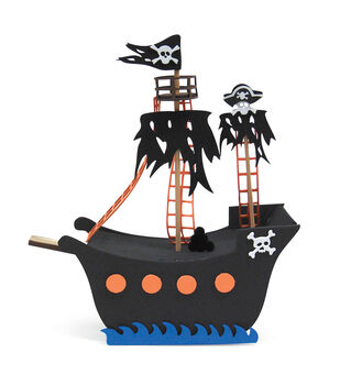 3D Foam Kit - Pirate Ship
