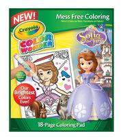 Crayola Color Wonder Coloring Pad-Sofia The 1st, , hi-res