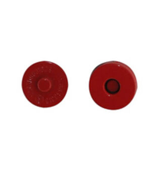 """Everything Mary Metallic Red Large 11/16"""" Magnetic Snaps-2pk"""