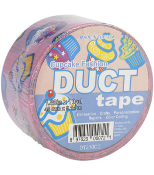 Pink Cupcake -Duct Tape 2X10 yards