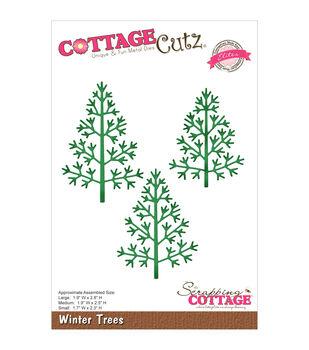 CottageCutz Elites Die-Winter Trees