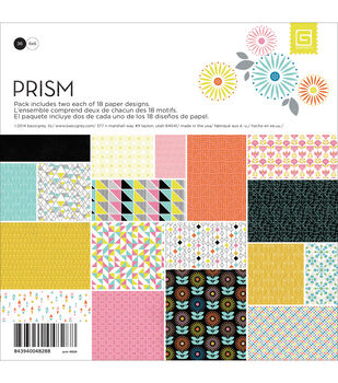 Basic Grey Prism Paper Pad