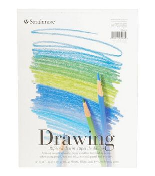 """Strathmore Student 9""""X12"""" Drawing Pad"""